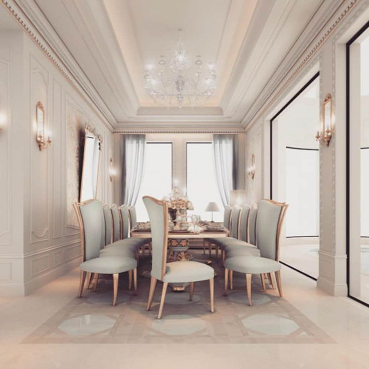 Interior Design & Architecture  by IONS DESIGN Dubai,UAE: classic Dining room by IONS DESIGN