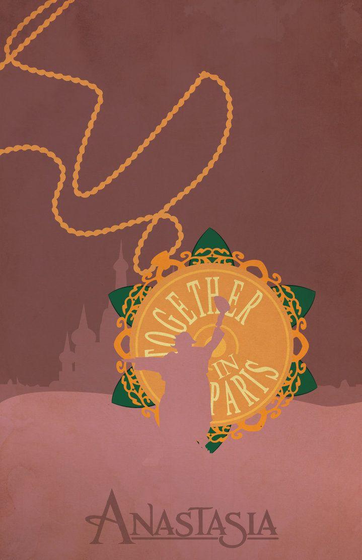 Anastasia- Together in Paris Locket Necklace
