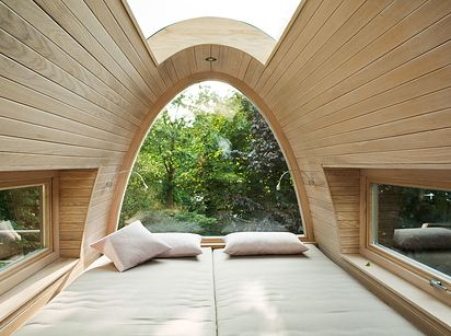 In a tree. | 39 Places You Want To Sleep Right Now
