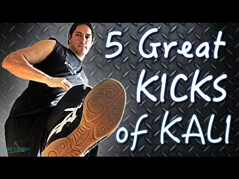 5 Great Kicks of Filipino Martial Arts: Sikaran kicking techniques