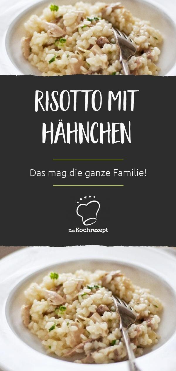 Purer Genuss: Das Risotto mit Hähnchen ist ein superleckeres Mittagessen, das …  – Risotto Rezepte