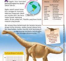 Argentinosaurus, Suka Menelan Batu - Ebook Anak