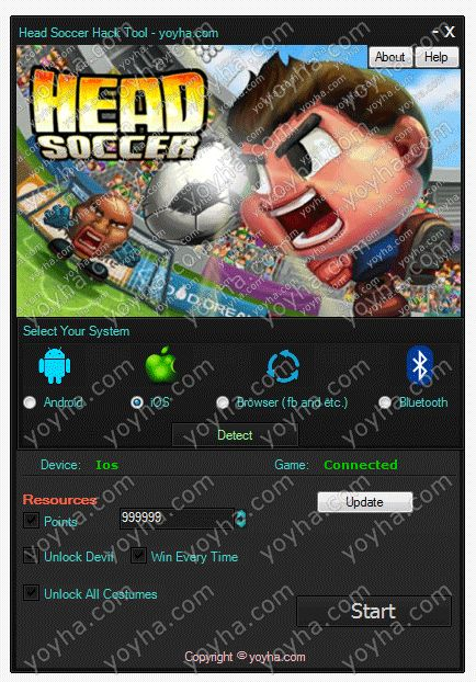 Head Soccer Hack and Cheats download online, Full version of Head Soccer Hack and Cheats no survey. Get Head Soccer Hack and Cheats updated Head Soccer Hack and Cheats. Working Head Soccer Hack and Cheats