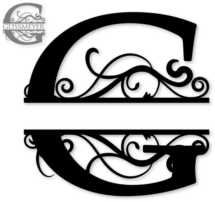 g split monogram flockfolie letters pinterest design studios and bottle. Black Bedroom Furniture Sets. Home Design Ideas