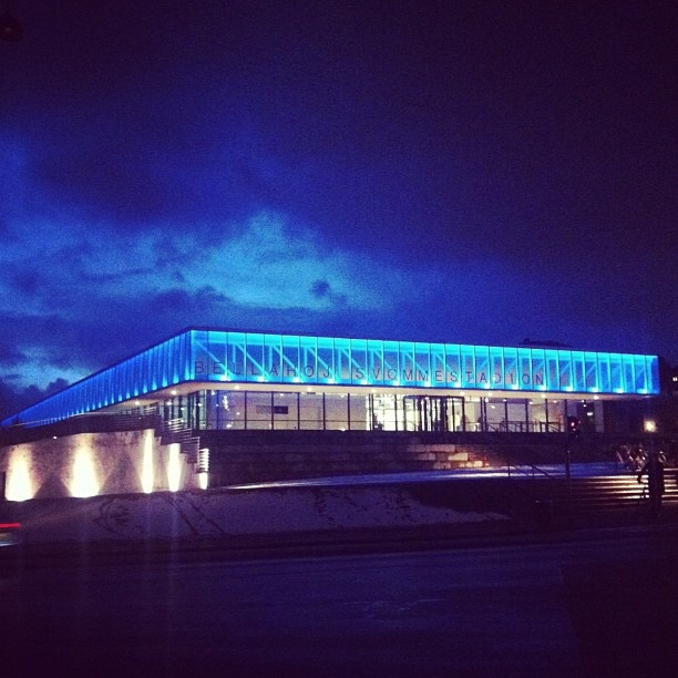 Bellahøj Swimming Stadium. Danish architecture has a long and fine history and world famous architectural buildings can be seen right across the globe. Read more here: http://denmark.dk/lifestyle/architecture