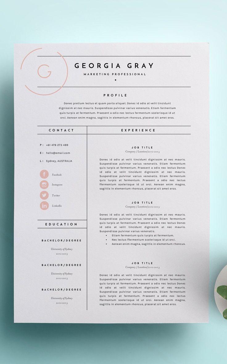 Graphic designer resume about me graphic designer
