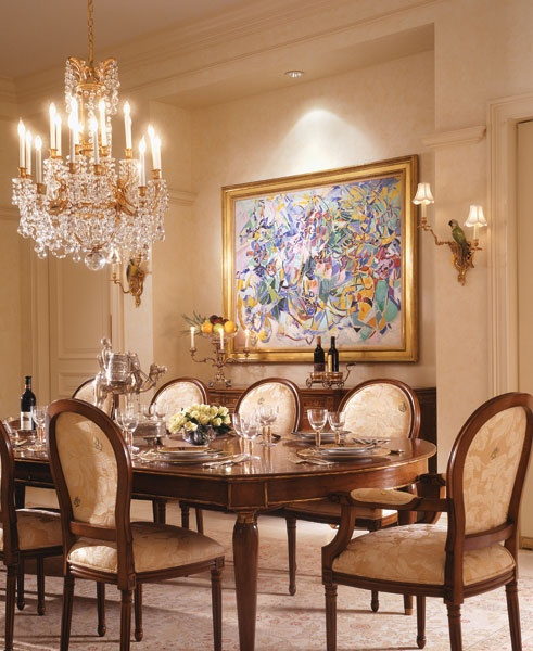 Formal Dining Room interior Design judy Howard J