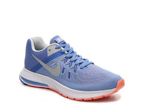 nike zoom winflo 2 womens blue orange