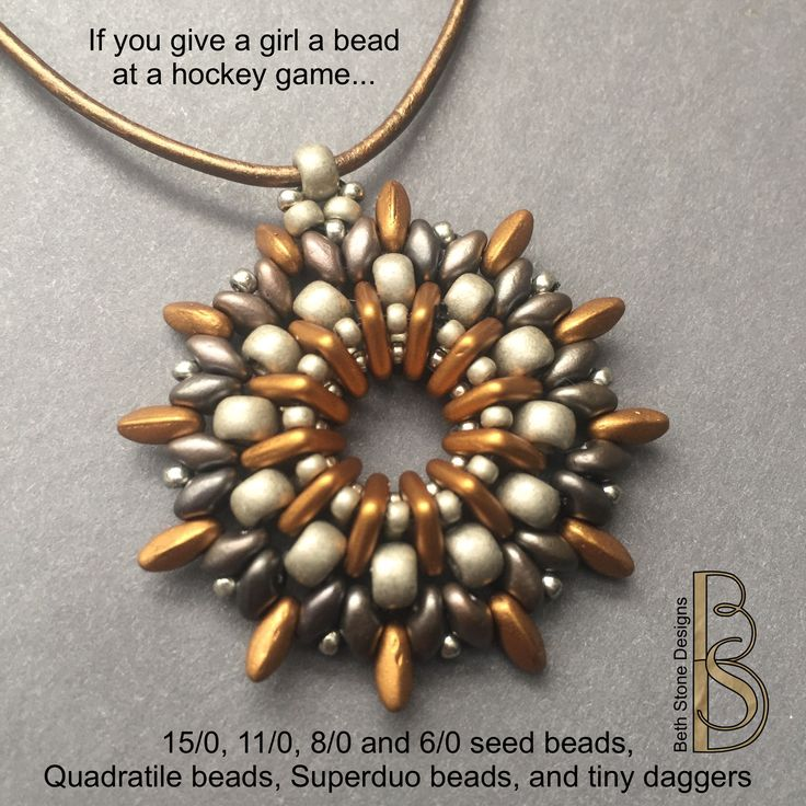 272 best if you give a girl a bead images on pinterest beth stone seed beads pendant aloadofball Gallery