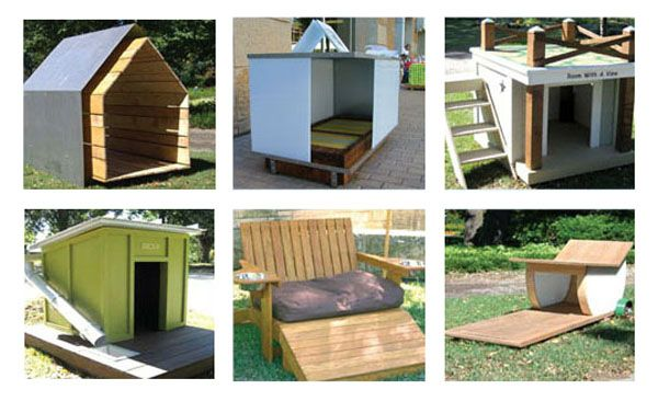 1000 images about dog on pinterest pets modern dog for Architecture and design dog house