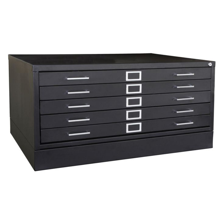 Sandusky Lee Flat Filing Cabinet with Closed Base - ATM042