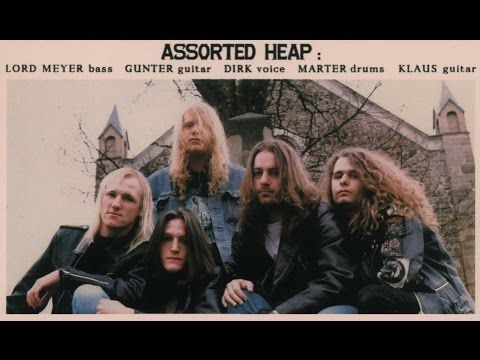 ASSORTED HEAP - Mindwaves ◾ (album 1992, German death/thrash metal)