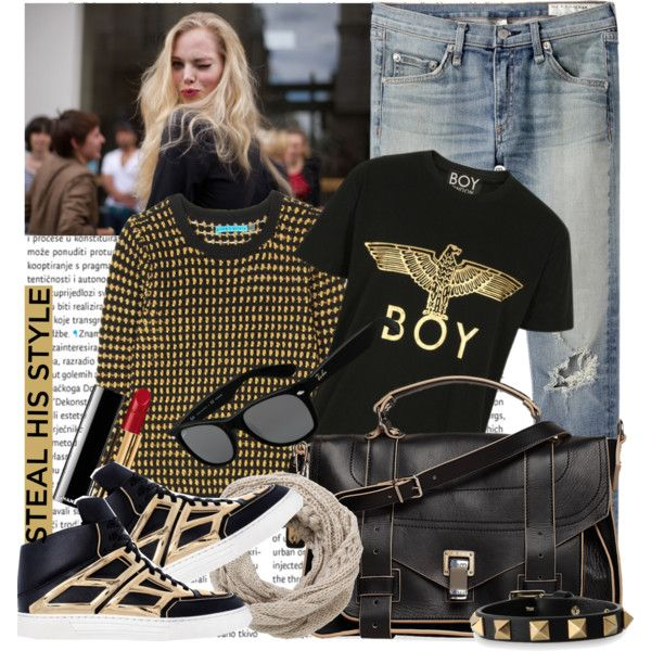 No-Fail Outfit Combos You Can Create With Boyfriend Jeans 2017