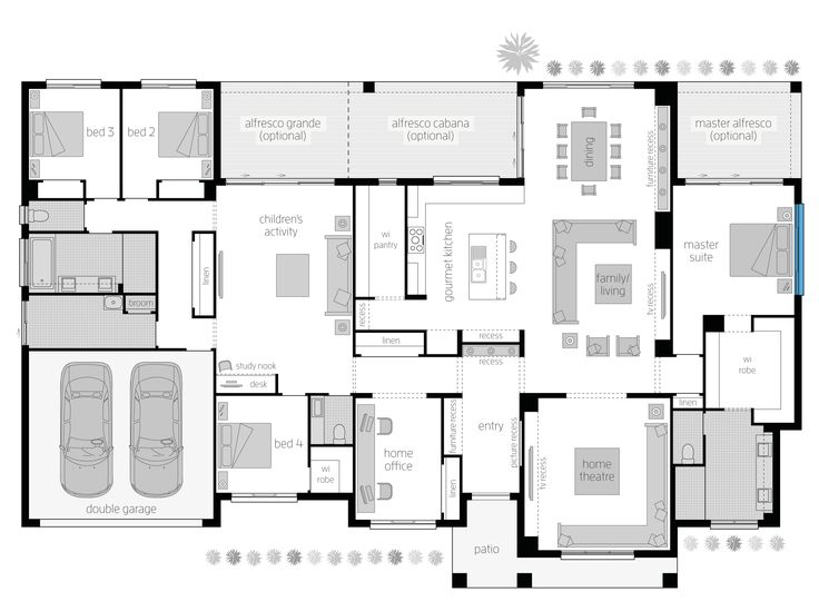 2037 Best Floor Plans In Australia Images On Pinterest