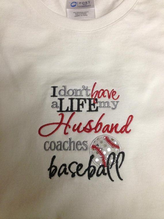 Baseball Wife Shirt on Etsy, $23.00