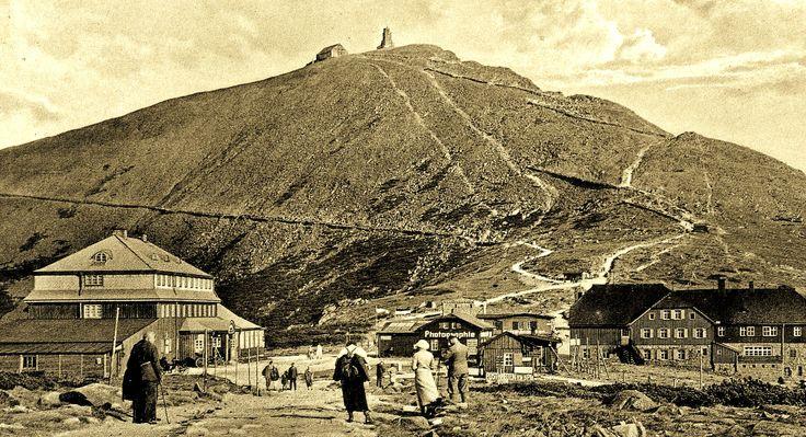 Riesengebirge Schlesierhaus und Riesenbaude