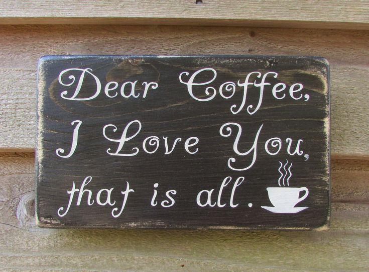 Funny Coffee Sign Kitchen Sign Coffee Sign Primitive Rustic Home Decor Farmhouse Decor Hand Painted Wood Sign Kitchen Decor Kitchen