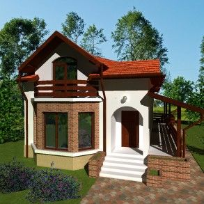 4 rooms house