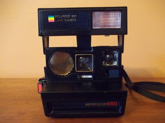 POLAROID 600 Land Camera Autofocus 660 Polaroid by SLazyB1952