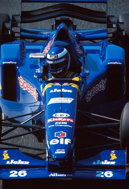 1995, Frankreich GP, Magny-Cours, Olivier Panis, Ligier