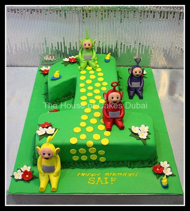 Teletubbies cake 5