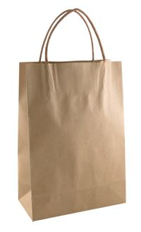 Small brown paper bags