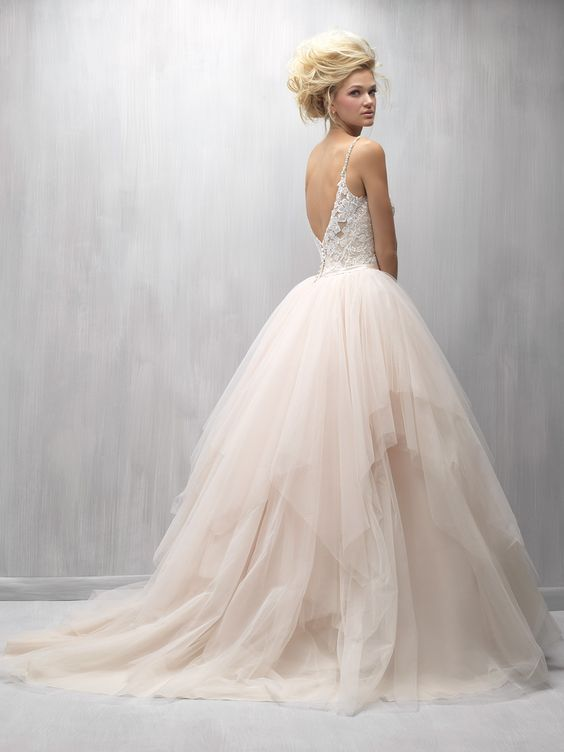 Wedding dress idea; Featured dress: Madison James #vestidodenovia | # trajesdenovio | vestidos de novia para gorditas | vestidos de novia cortos http://amzn.to/29aGZWo