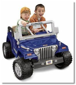 Power Wheels Jeep Wrangler Rubicon is a cool ride for toddlers age 3+ #toddlergifts #toddlers