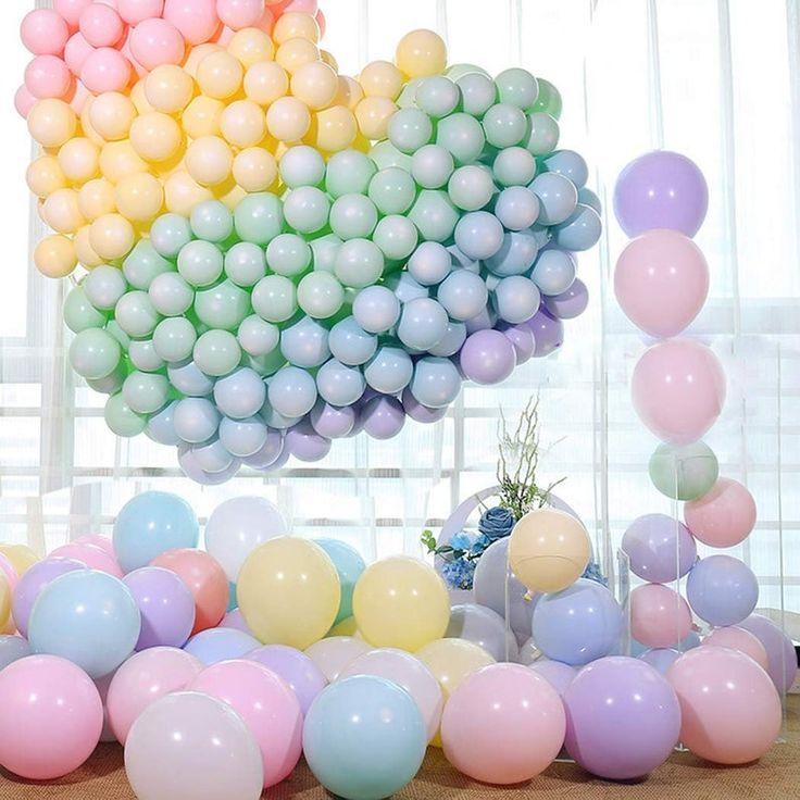 Pastell Ballon Bogen Ballons Hochzeit Luftballons Babyparty