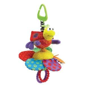 RC2 Lamaze Bee with Flower  Bright patterns and different textures with teether  http://www.comparestoreprices.co.uk/educational-toys/rc2-lamaze-bee-with-flower.asp