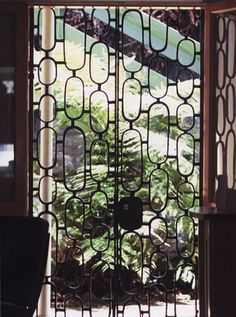 Image Result For Security Gate Mid Century Modern
