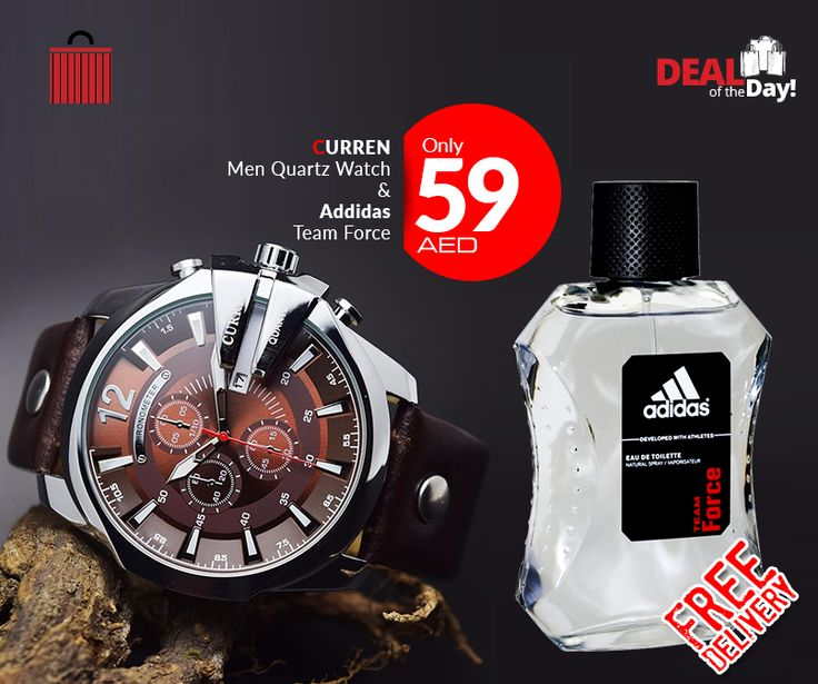 A Limited release watch with high end finishing from Curren Watches, pay only 59 AED + FREE DELIVERY and also get a Adidas Team Force Perfume. ~No Additional charges or hidden costs~ Pay Cash on Delivery 100% Genuine Product Whatsapp to buy >> +971569202356  #emirates #indubai #inabudhabi #mydubai #mydxb #mysharjah #myabudhabi #myuae #dubailife #uaelife #myklickshopae  #myklickshop  #dealsoftheday #onlineshop  #uaeonlineshopping  #dubai #dxb #dubaishop
