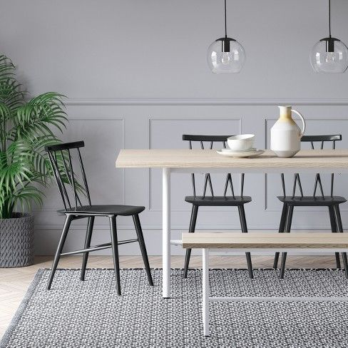 Remarkable Becket Metal X Back Dining Chair Black Project 62 Want Pdpeps Interior Chair Design Pdpepsorg