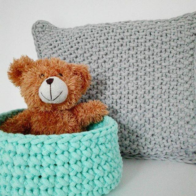 Czas na odpoczynek 💕 #pokojniemowlecy #pokojdzieciecy #kidsroom #babyroom #koszyk #poduszka #poduszki #sznurekbawełniany #dekoracjewnętrz