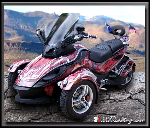 Can Am Spyder For Sale >> ALLPOWERSPORTSGRAPHICS.COM CUSTOM CAN-AM SPYDER GRAPHICS ...