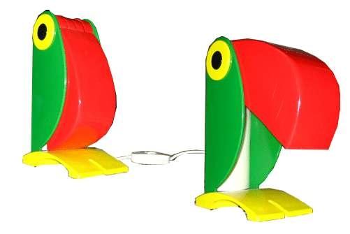 """Un classico del designi anni '60 è la lampada """"tucano"""" di Old Timer Ferrari.  http://www.leonardo.tv/storia-del-design/design-anni-60-icone/lampada-tucano-1960"""