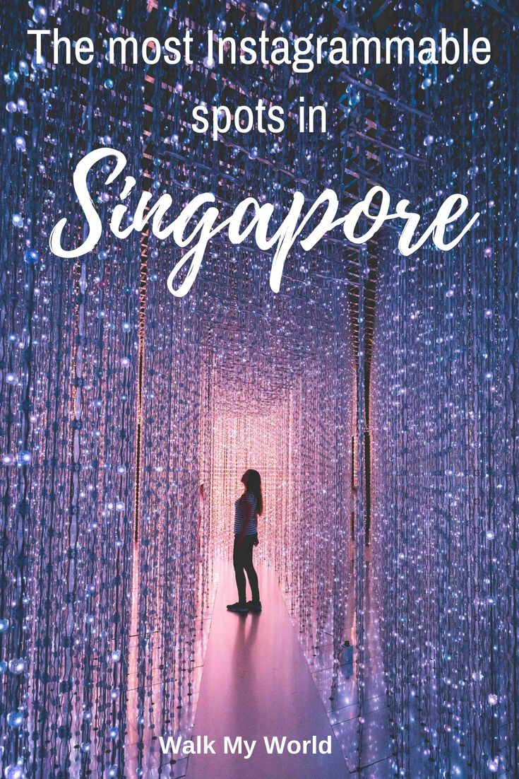 Instagram places in Singapore you can visit in just two days!