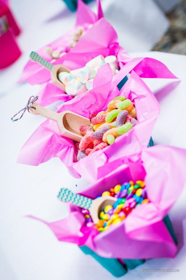 Ice cream station toppings for 2014 summer baby shower ideas