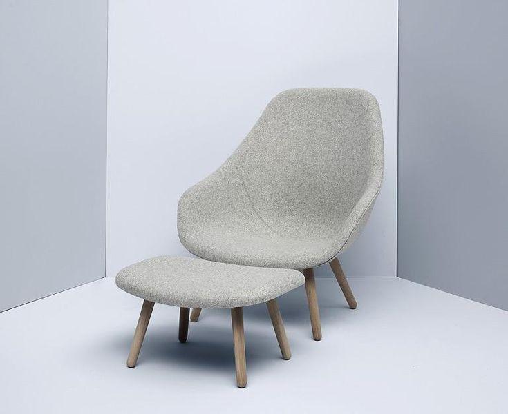 """Sessel - 15 Modelle im Retro-Stil: Neuer Klassiker: """"About a Lounge Chair"""" von Hay"""