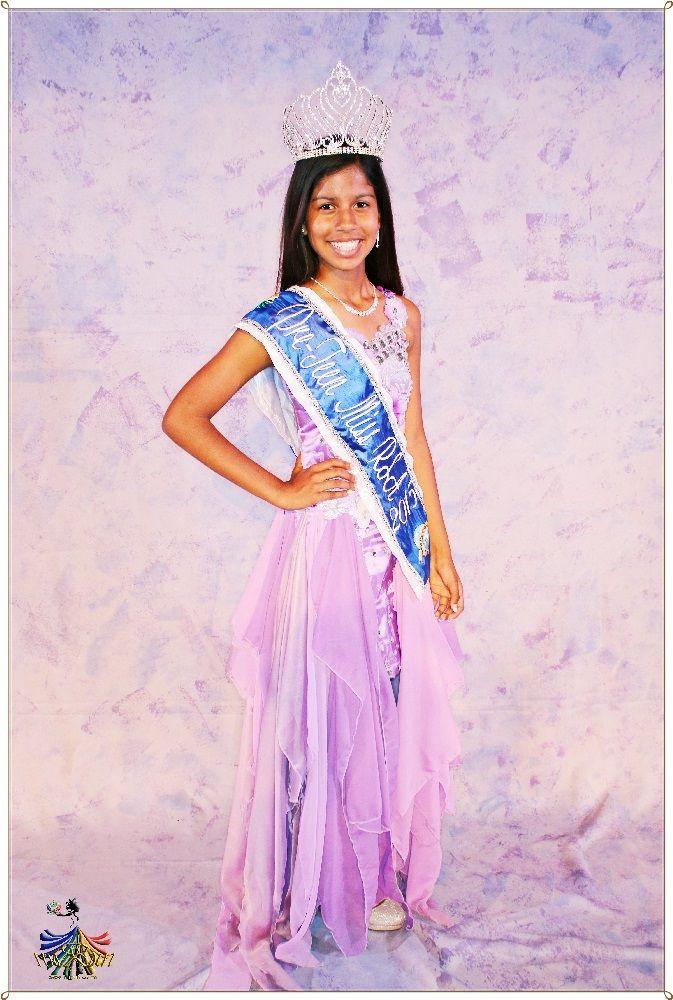 Pre-Teen Miss RSA 2015 - Winner Tamica Biggar