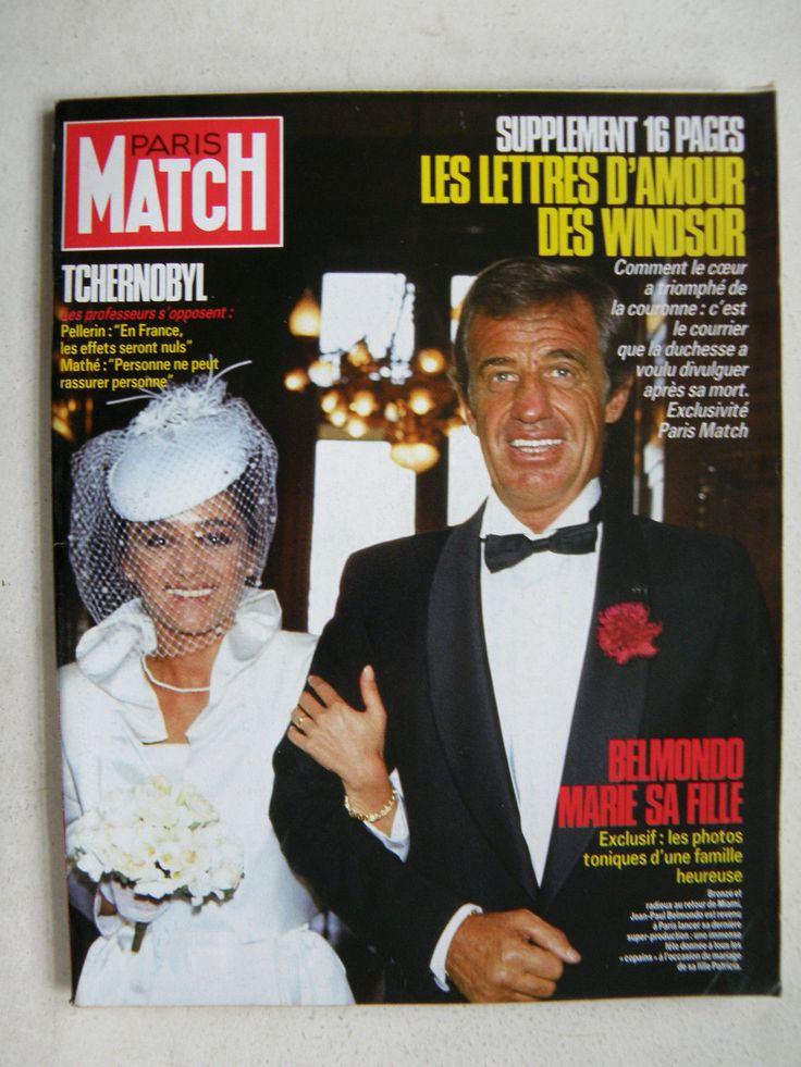Patricia Belmondo et Jean-Paul Belmondo