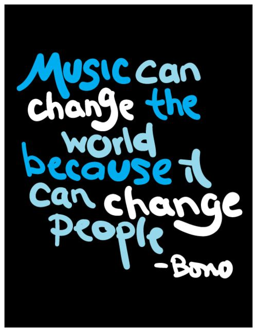 music can change the world quote