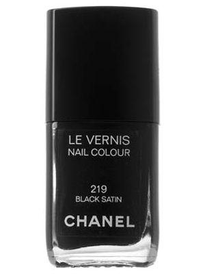 ★: Chanel Black Satin, 219 Black, Chanel Black On Black, All Black, Black Nail Polish, Black Nails, Black Chanel, Chanel Converttoblack