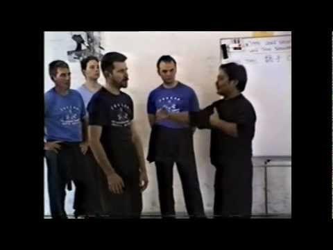 ▶ Wing Chun Malaysia - Sifu Wong Shun Leung on Dan Chi Sau (part 2) - YouTube