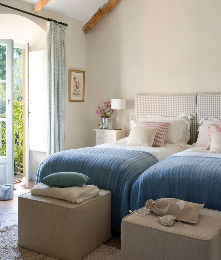 15 ideas f ciles para decorar con telas bedrooms double for Decorar piso vacaciones