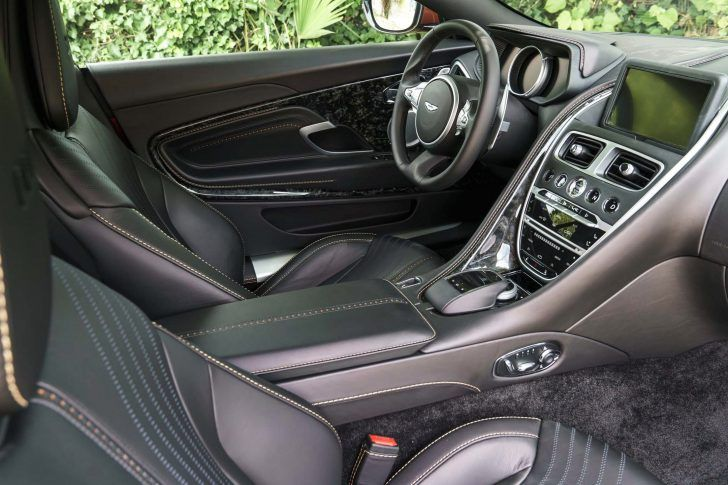 2017 Aston Mrtin DB11 Interior