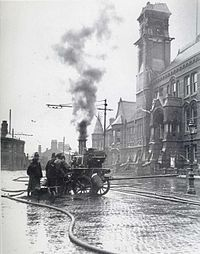 St Helens, Merseyside - Wikipedia, the free encyclopedia The Town Hall loses its steeple a second time, permanently, in 1913.