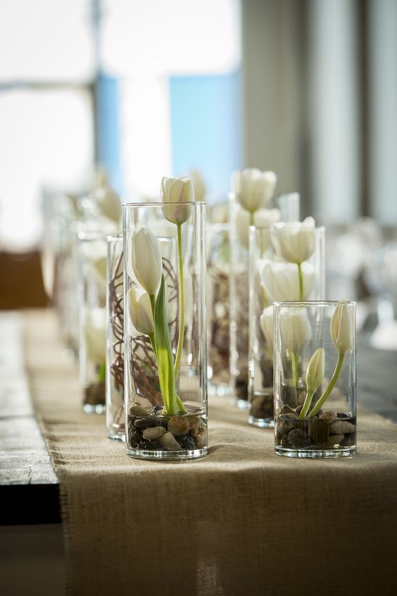 50 White Tulip Wedding Ideas For Spring Weddings Tulip