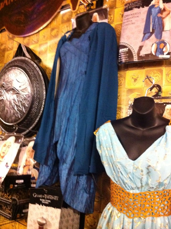 Officially licensed Daenerys costume dress at Halloween Spirit store