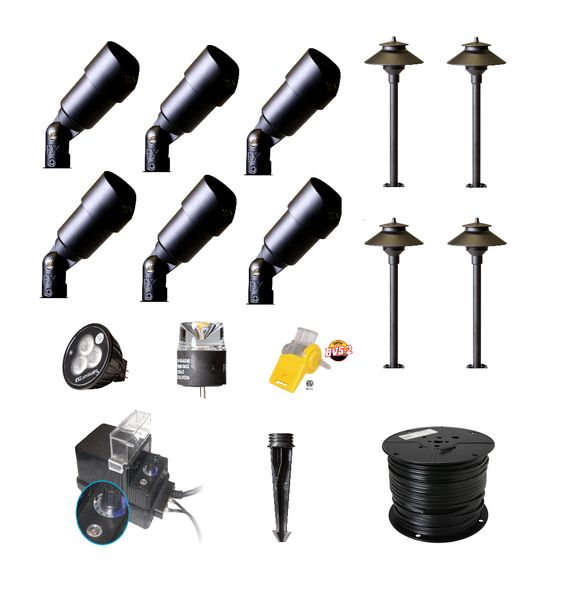 Check out Our New DIY Landscape Lighting Kits now Available Online at . Get Free Shipping for Limited Time!